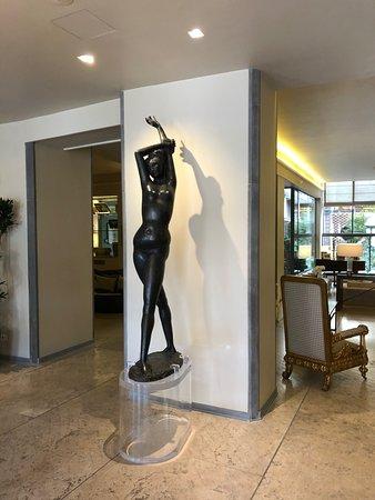 Grand Hotel Minerva: Холл отеля