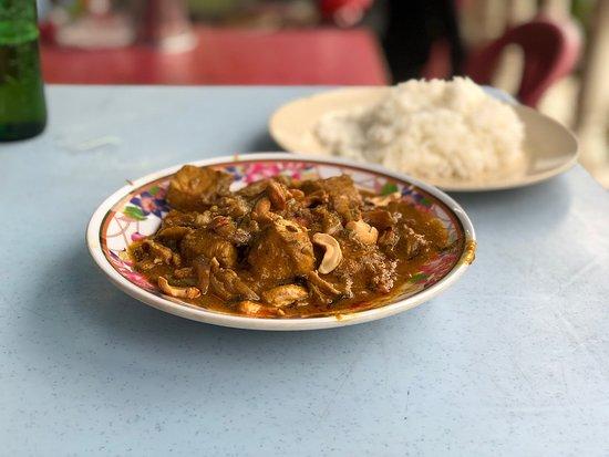 Kumar's: カシューナッツとチキンのカレー
