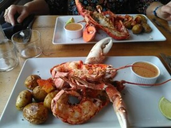 Iles Chausey, Prancis: Menu autour du homard