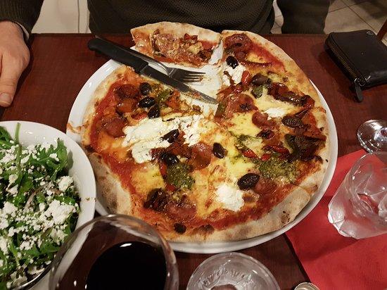 "Maylands, Australia: my son's pizza ""Golosa"""