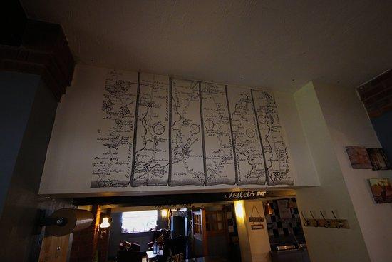 The Wheelbarrow Castle Country Pub & Eating House: Entrance to the Restaurant