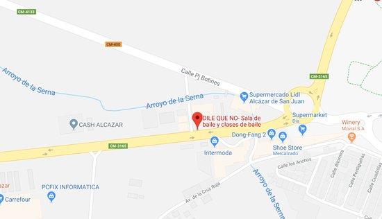 Dile Que No: Estamos ubicados junto el Hotel Insula BArataria y la gasolinera Repsol. Fácil aparcamiento.