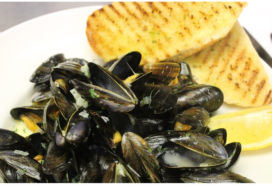 Greyabbey, UK: Mussels to die for