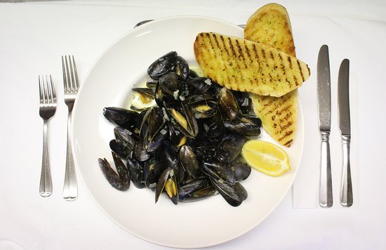 Greyabbey, UK: Strangfor Lough mussels