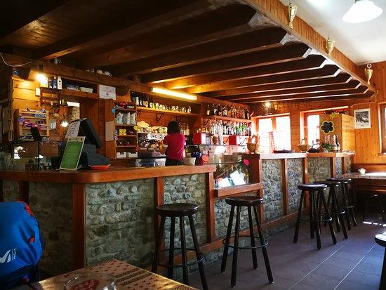 Bionaz, Италия: Interno Rifugio Prarayer