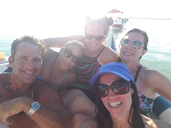 Key Largo Adventures: Group photo at the end of the day! SO FUN!!!