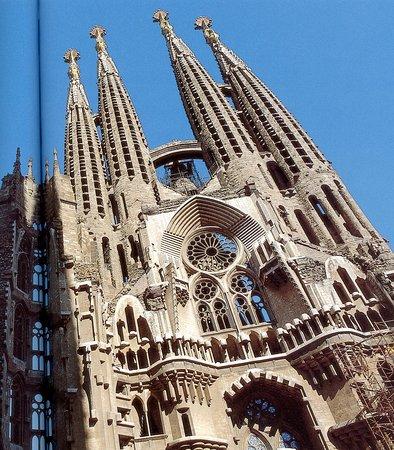 Sagrada Família : Façade principale