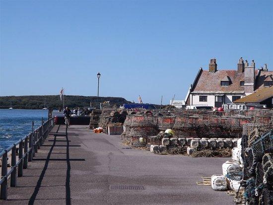 Crab Pots Mudeford Quay