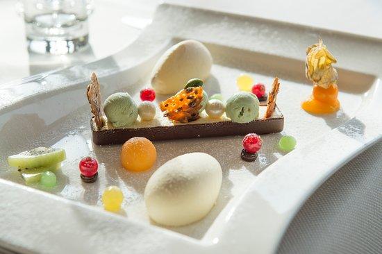 Burg-Reuland, Bélgica: Dessert