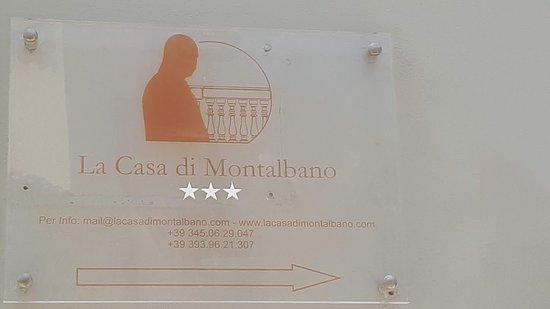 La Casa del Commissario Montalbano: targa B & B