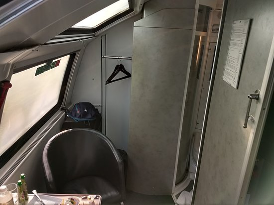Double Deck Car Deluxe Compartment Picture Of Obb Vienna
