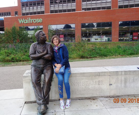 Aylesbury, UK: With 'Fletcher'