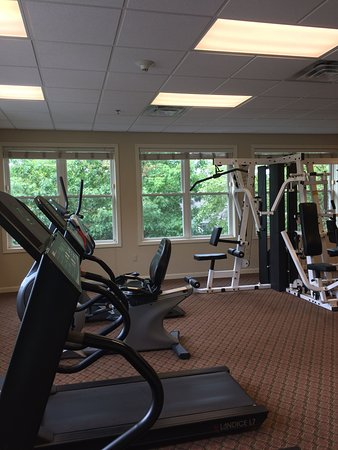 Hancock, MA: Fitness Room