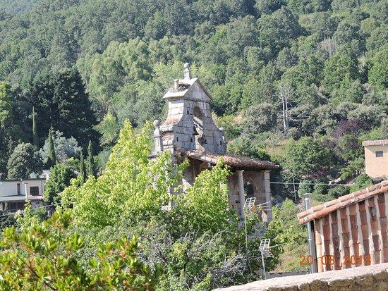 San Martin del Castanar, إسبانيا: Panorámica desde el castillo