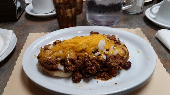South Sioux City, NE: chili burger