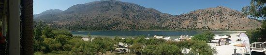 Kournas, Grécia: Panorámica del lago