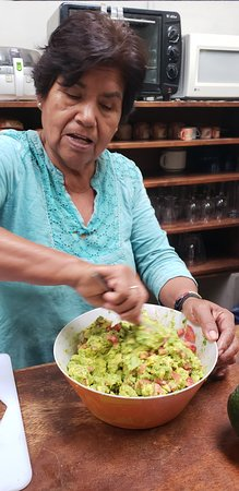 Quellomayo, Peru: Yummy Gauc made by Olga