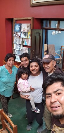Quellomayo, Peru: The lovely family