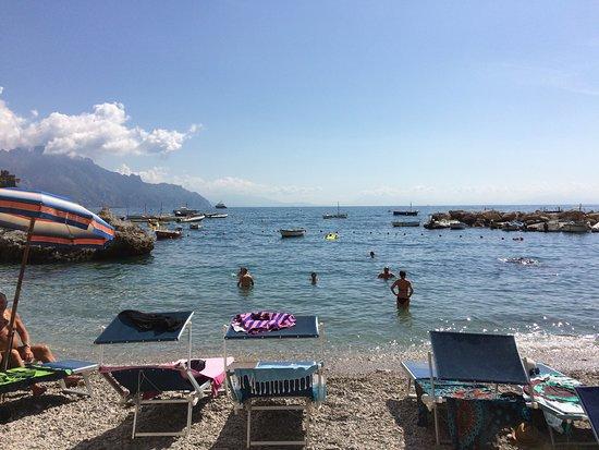 Vettica, อิตาลี: amalfi centre Beach area