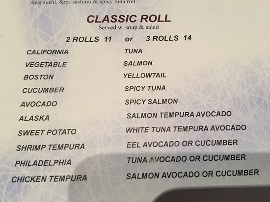Montgomery, NJ: Classic Roll lunch offers soup, salad and 2 or 3 rolls