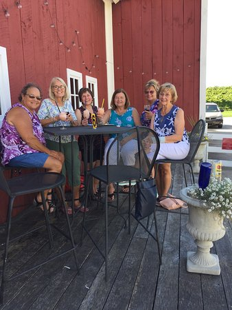 Shelby, MI: Six old friends enjoying a lovely summery September afternoon...