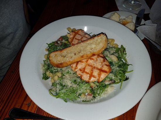 Forsyth, GA: Garden Pasta with Salmon $23