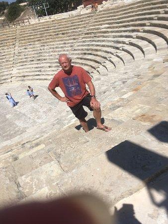 Episkopi, Siprus: Day full of history