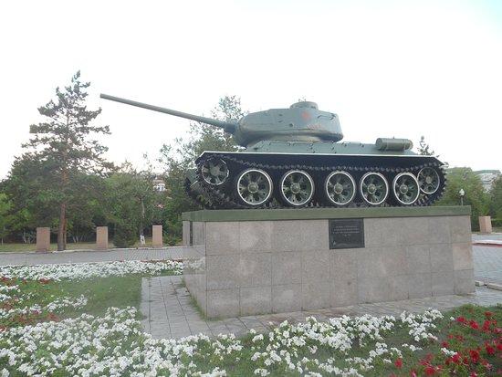 Semey, كازاخستان: T-34