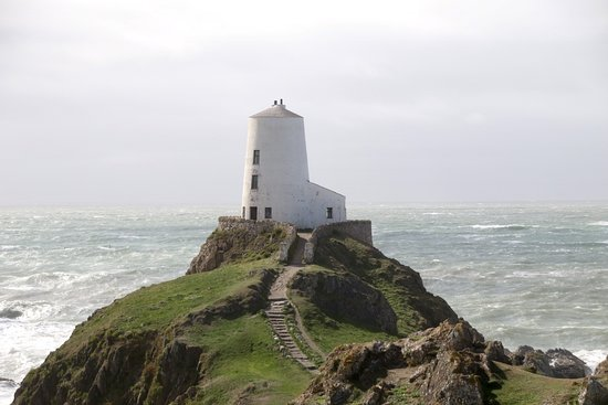 Newborough, UK : twr mawr lighthouse