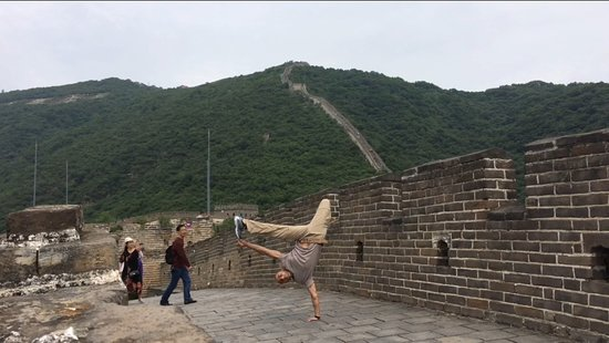 Xinyi, Chiny: trip to chinese wall (use the night train and spend 1 night in Beijing)
