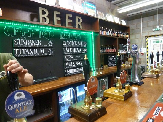 Bishops Lydeard, UK: Quantock Brewery