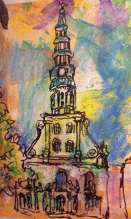 Церковь Святого Петра: Blick nach oben