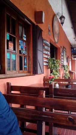 Restaurante Meson Del Norte: Terraza