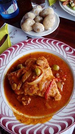 Restaurante Meson Del Norte: Bacalao con demasiadas espinas