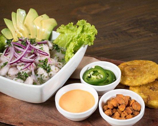 Ceviche Peruano Picture Of La Tavola Creative Bistro Guatemala City Tripadvisor