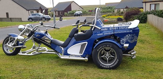 Kirkwall, UK: Orkney Trike Tours