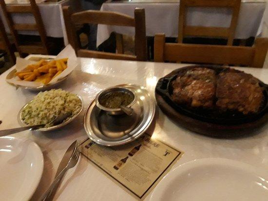 Cruzilia, MG: Melhor jantar
