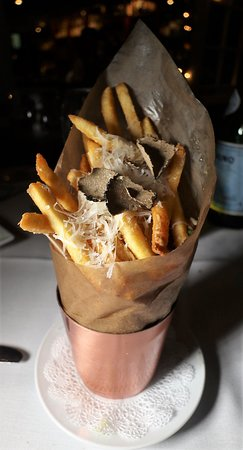 Bordentown, Nueva Jersey: Truffle Parmesan Fries