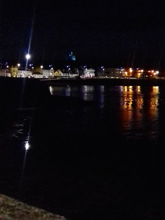 Donaghadee, UK: The Harbour at night