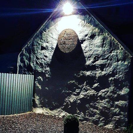 Colbost, UK: Three Chimneys at night