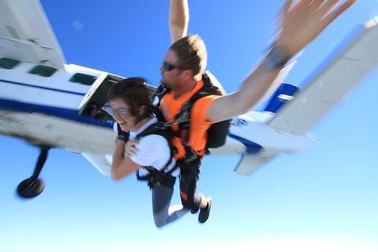 Skydive Cross Keys: Away we go!