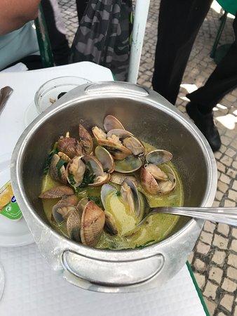 Restaurante Cervejaria Pinoquio: Ameijoas...freschissime