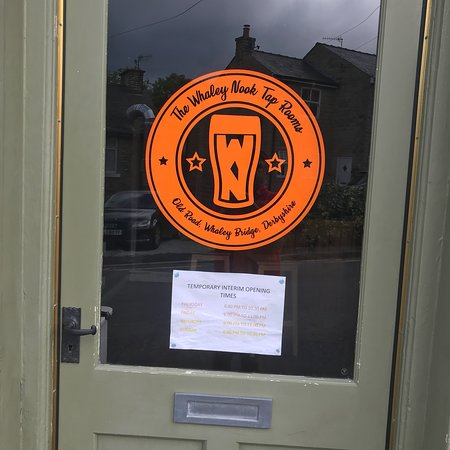 Whaley Bridge, UK: Whaley Nook tap room is new name