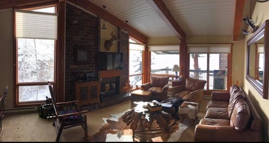 Top of the Village Condominiums, A Destination Residence: View of the family room for the condo we stayed in.