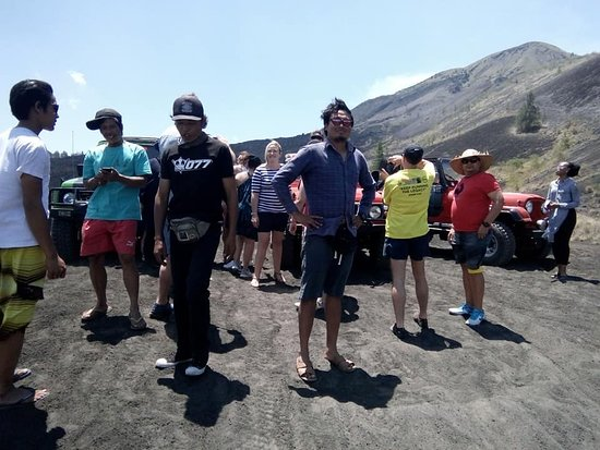 Songan, Indonesien: Mt Batur