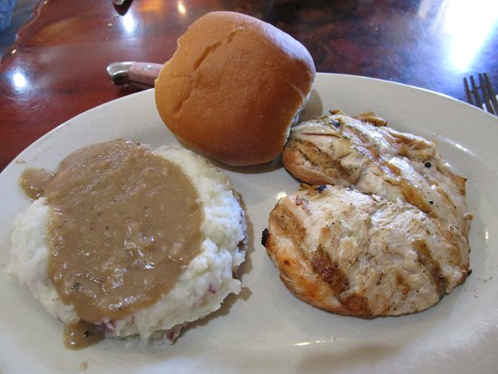 Belfield, Dakota del Norte: Grilled Chicken Dinner