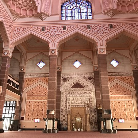 Putra-Moschee (Masjid Putra): プトラジャヤ・モスク