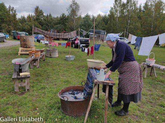 Finspang, สวีเดน: Tvätt