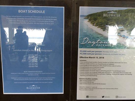 Bluewater Sumilon Island Resort: 「スミロン ブルーウォーター アイランド リゾート」案内
