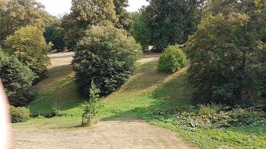 Orlik nad Vltavou, สาธารณรัฐเช็ก: Zámecký park